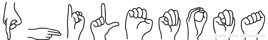 Philemona in Fingersprache für Gehörlose