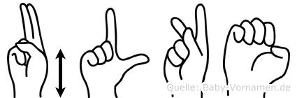 Ülke in Fingersprache für Gehörlose