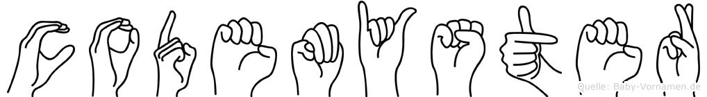 Codemyster im Fingeralphabet der Deutschen Gebärdensprache