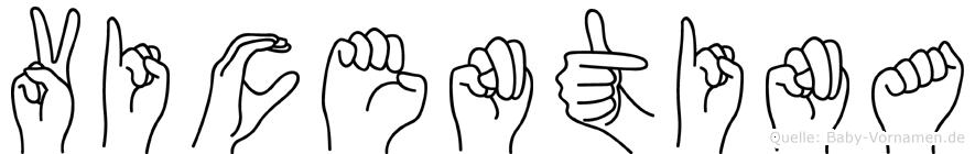 Vicentina in Fingersprache für Gehörlose