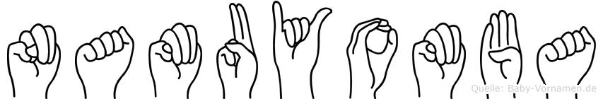 Namuyomba in Fingersprache für Gehörlose