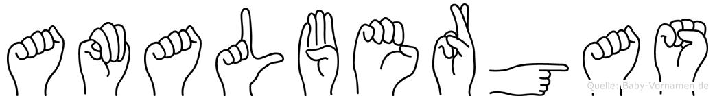Amalbergas in Fingersprache für Gehörlose