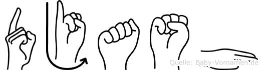 Djash in Fingersprache für Gehörlose