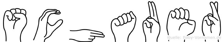 Schauer in Fingersprache für Gehörlose