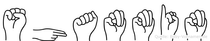 Shanmin in Fingersprache für Gehörlose