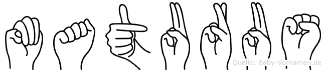 Maturus in Fingersprache für Gehörlose
