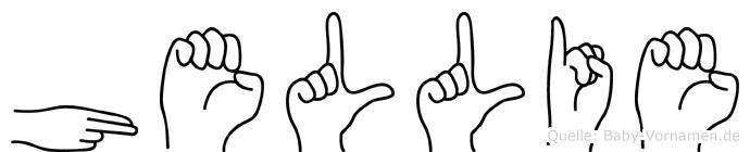 Hellie in Fingersprache für Gehörlose