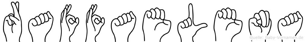 Raffaelena in Fingersprache für Gehörlose