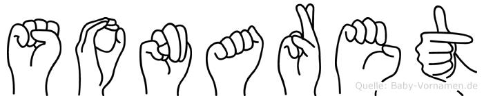 Sonaret in Fingersprache für Gehörlose