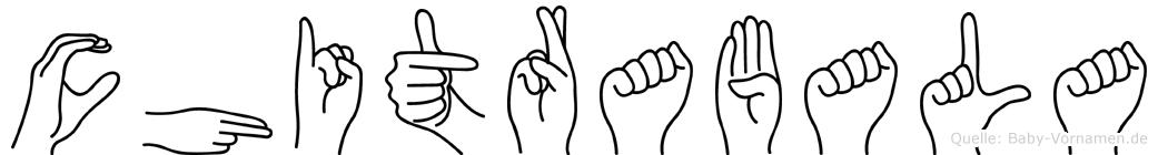Chitrabala in Fingersprache für Gehörlose