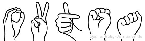Ovtsa in Fingersprache für Gehörlose