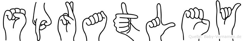 Spratley in Fingersprache für Gehörlose