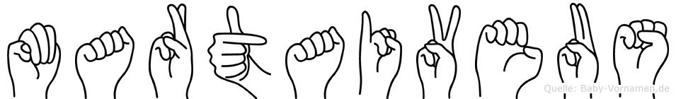 Martaiveus in Fingersprache für Gehörlose