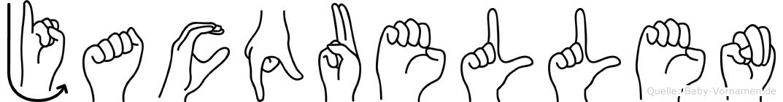Jacquellen im Fingeralphabet der Deutschen Gebärdensprache