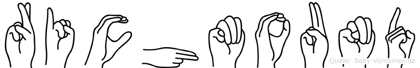 Richmound in Fingersprache für Gehörlose