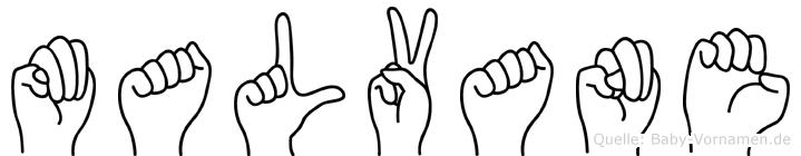 Malvane in Fingersprache für Gehörlose