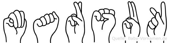 Marsuk in Fingersprache für Gehörlose