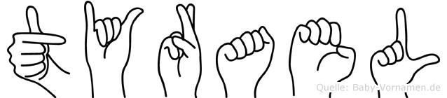 Tyrael in Fingersprache für Gehörlose