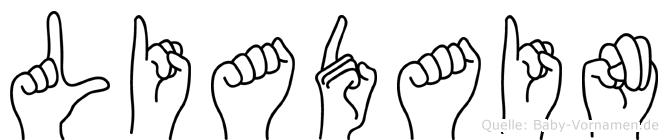 Liadain in Fingersprache für Gehörlose