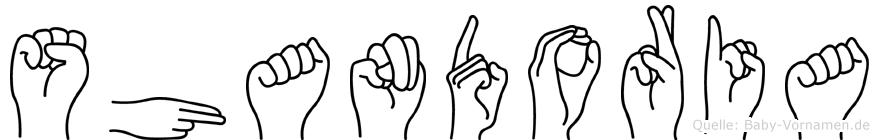 Shandoria in Fingersprache für Gehörlose