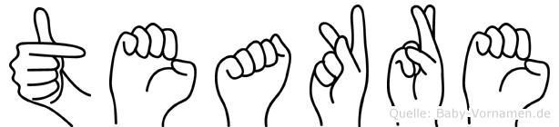 Teakre in Fingersprache für Gehörlose