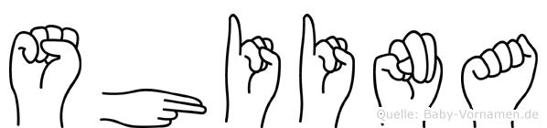 Shiina in Fingersprache für Gehörlose