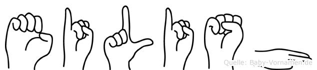 Eilish in Fingersprache für Gehörlose