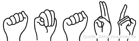 Amaud in Fingersprache für Gehörlose