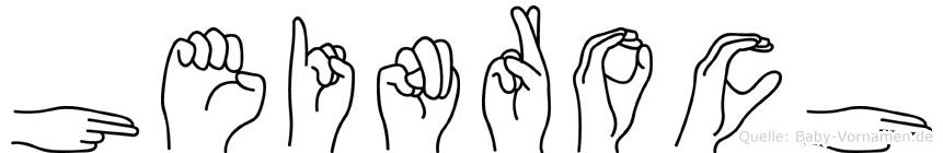 Heinroch in Fingersprache für Gehörlose