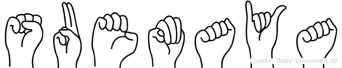 Suemaya in Fingersprache für Gehörlose
