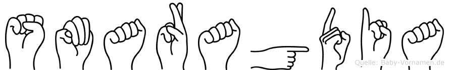 Smaragdia in Fingersprache für Gehörlose