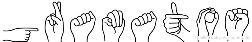 Gramatos in Fingersprache für Gehörlose