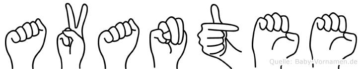 Avantee in Fingersprache für Gehörlose