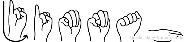 Jimnah in Fingersprache für Gehörlose