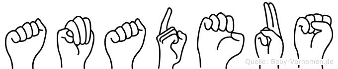 Amadeus in Fingersprache für Gehörlose