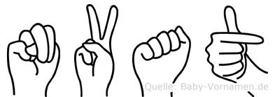 Nvat in Fingersprache für Gehörlose