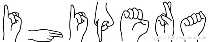 Ihipera in Fingersprache für Gehörlose