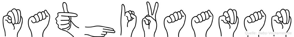 Mathivaanan in Fingersprache für Gehörlose