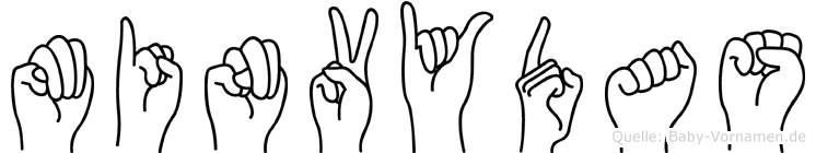 Minvydas in Fingersprache für Gehörlose