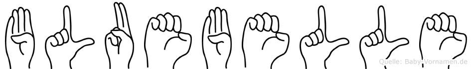 Bluebelle in Fingersprache für Gehörlose