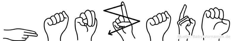 Hanzade in Fingersprache für Gehörlose