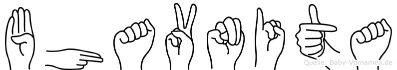 Bhavnita in Fingersprache für Gehörlose