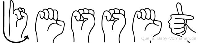 Jesset in Fingersprache für Gehörlose