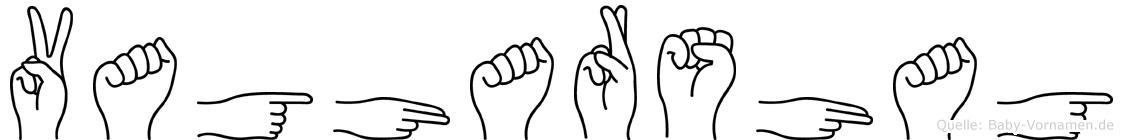 Vagharshag in Fingersprache für Gehörlose