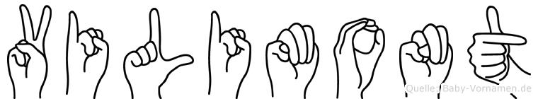 Vilimont in Fingersprache für Gehörlose