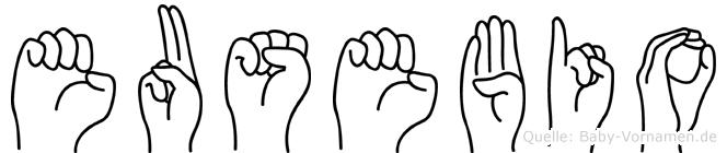 Eusebio in Fingersprache für Gehörlose