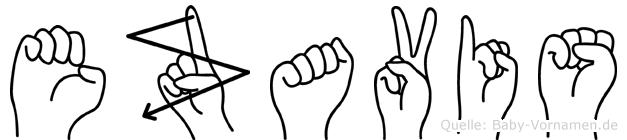 Ezavis in Fingersprache für Gehörlose