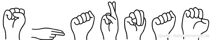 Sharnae in Fingersprache für Gehörlose