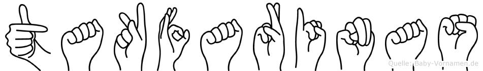 Takfarinas in Fingersprache für Gehörlose