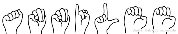 Annilee in Fingersprache für Gehörlose